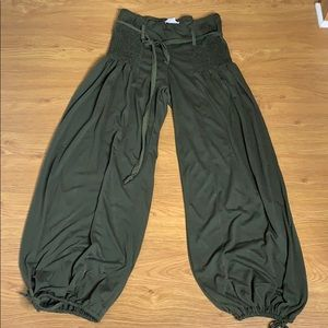 Connection 18 Olive Green Hammer Pants Size Large